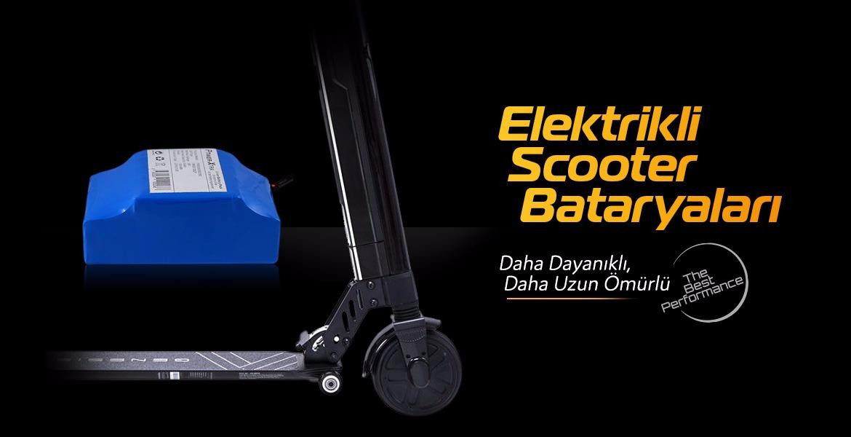 Elektrikli Scooter Bataryaları