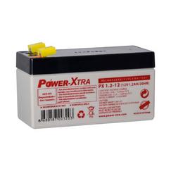 Power-Xtra 12V 1.2 Ah باتری سیلد اسید