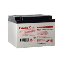 Power-Xtra 12V 26 Ah باتری سیلد اسید