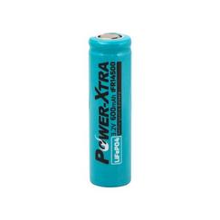 Power-Xtra 3.2V LiFePO4 IFR14500 AA 600 Mah باتری لیتیوم آهن فسفات قابل شارژ