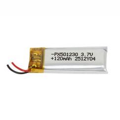 Power-Xtra PX501230 120 mAh Li-Polymer Battery (with PCM/BMS)