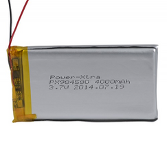 Power-Xtra PX984580 4000 mAh Li-Polymer Battery