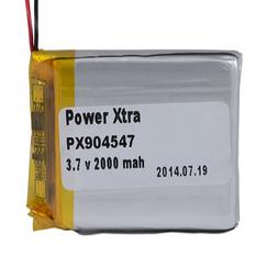 Power-Xtra PX904547 2000 mAh Li-Polymer Battery