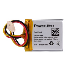 Power-Xtra PX403442  560mAh with connector Li-Polymer Battery