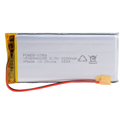 Power-Xtra PX6540105 3200 mAh Li-Polymer Battery