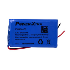 Power-Xtra PX654473 2700 mAh Li-polymer Battery