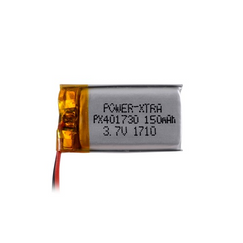 Power-Xtra PX401730 3.7V 150 mAh Li-Polymer Battery with PCM (1.0A)