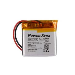 Power-Xtra PX322826 3.7V 175 Mah Li-Polymer Batareya