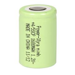 Power-Xtra 1.2V Ni-Mh 4/5SC 1600 Mah PVC Şarjlı Batareya