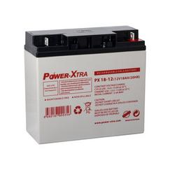 Power-Xtra 12V 18 Ah Quru Qurğuşun Turşu Akkumulyator