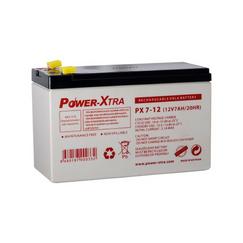 Power-Xtra 12V 7 Ah F1 Pin Quru Qurğuşun Turşu Akkumulyator