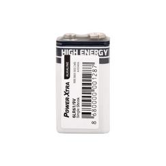 Power-Xtra 6LR61/9V Size Alkaline Pil - Tekli Shrink