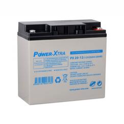 Power-Xtra 12V 20 Ah Elektrikli Bisiklet Aküsü (F6/Vidalı)