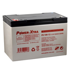 Power-Xtra 12V 100 Ah Bakımsız Kuru Akü