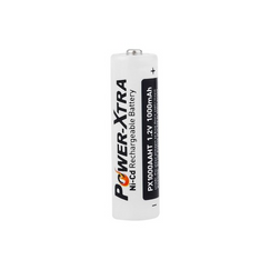 Power-Xtra 1.2V Ni-Cd AA 1000 Mah Şarjlı Kalem Pil (Başlı/Top Head)