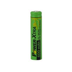 Power-Xtra 1.2V Ni-Mh AAA Size 600 Mah Şarjlı (Başsız) Pil