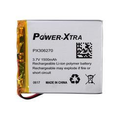 Power-Xtra PX306270 1500 mAh Li-Polymer Pil