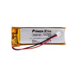 Power-Xtra PX601752 3.7V 470 mAh Li-Polymer Pil (Soketli/PCM/1.5A)