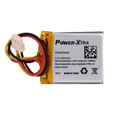 Power-Xtra PX403442 560mAh Soketli  Li-Polymer Pil (Soketli)