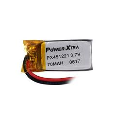 Power-Xtra PX451221 70 mAh Li-Polymer Pil