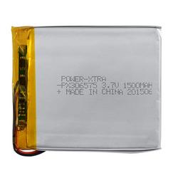 Power-Xtra PX306575 1500 mAh Li-Polymer Pil