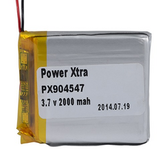 Power-Xtra PX904547 2000 mAh Li-Polymer Pil