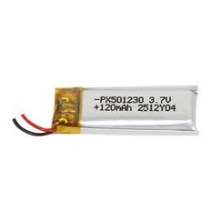 Power-Xtra PX501230 120 mAh Li-Polymer Pil