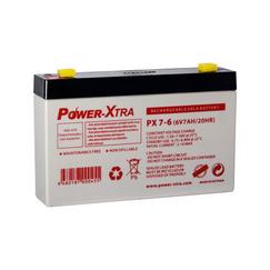 Power-Xtra 6V 7 Ah Sealed Lead Acid Battery