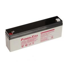 Power-Xtra 12V 2.6 Ah Lead Acid Battery