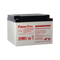 Power-Xtra 12V 26 Ah Sealed Lead Acid Battery
