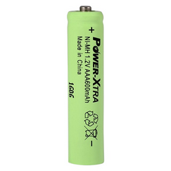 Power-Xtra 1.2V Ni-Mh AAA Size 600 Mah Rechargeable (Top Head) Battery