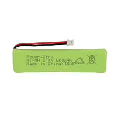 Power-Xtra 2.4V 500 Mah Ni-Mh Battery Pack