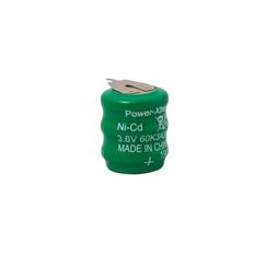 Power-Xtra 3.6V Ni-Cd 60 Mah 3 Pins Rechargeable Battery