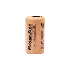 Power-Xtra 1.2V Ni-Cd SC 2200 Mah Rechargeable Battery (Paper)