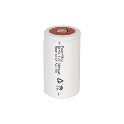 Power-Xtra 1.2V Ni-Cd D Size 4500 Mah  Rechargeable Battery (Flat)