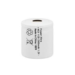Power-Xtra 1.2V Ni-Cd 1/2D 2500 Mah Rechargeable Battery