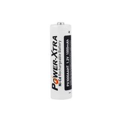 Power-Xtra 1.2V Ni-Cd AA 1000 Mah Rechargeable Battery (Top Head)