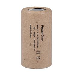Power-Xtra 1.2V Ni-Cd SC 2000 Mah 70 Degree Rechargeable Battery (Paper)