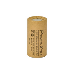 Power-Xtra 1.2V Ni-Cd SC 1500 Mah (PAPER) Rechargeable Battery