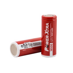 Power-Xtra 3.7V Li-ion 18500 1500 Mah Rechargeable Battery
