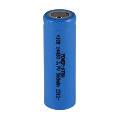 Power-Xtra 14430 Li-Ion AA 3.7V 560 Mah Rechargeable (Flat) Battery