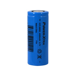 Power-Xtra ICR26650 Li-ion 3.7V 4000mAh Rechargeable Battery-5A