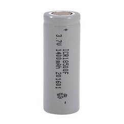 Power-Xtra 18500 3.7V 1400 Mah Li-ion Rechargeable Battery