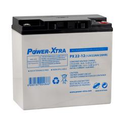 Power-Xtra 12V 22 Ah Elektrikli Bisiklet Aküsü (F6/Vidalı)