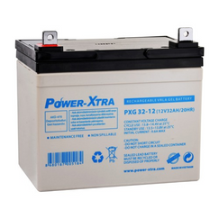 Power-Xtra 12V 32Ah Sealed Gel Battery