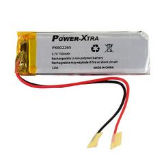 Power-Xtra PX602265 750 mAh Li-Polymer Pil