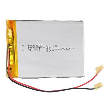 Power-Xtra PX335567 1100mAh   Li-Polymer Battery