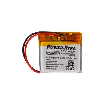 Power-Xtra PX322826 3.7V 175 Mah Li-Polyme Battery with PCM(1.5A)