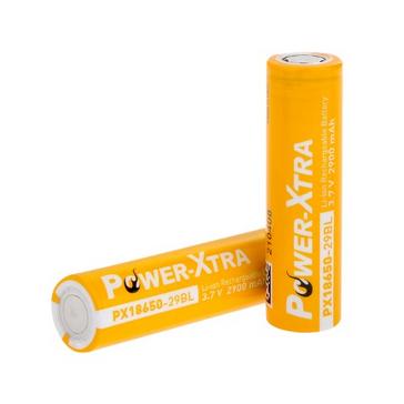 Power-Xtra 3.7V Li-ion 18650 2900 Mah Rechargeable Battery
