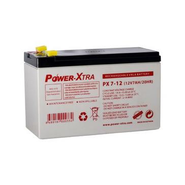 Power-Xtra 12V 7 Ah F1 Pin Bakımsız Kuru Akü